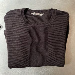 Athleta Knit Wool Blend Sweater, EUC, Large